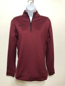 nike fleece quarter zip womens