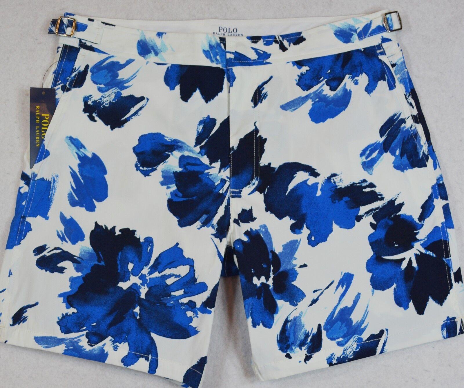 Polo Ralph Lauren Swim Trunks Board Shorts Monaco Floral 40 NWT