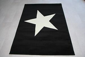 Qualite-Large-Tapis-120-cm-x-170-cm-Kids-5-Designs-Stars-Star-Tapis-couleurs-vives