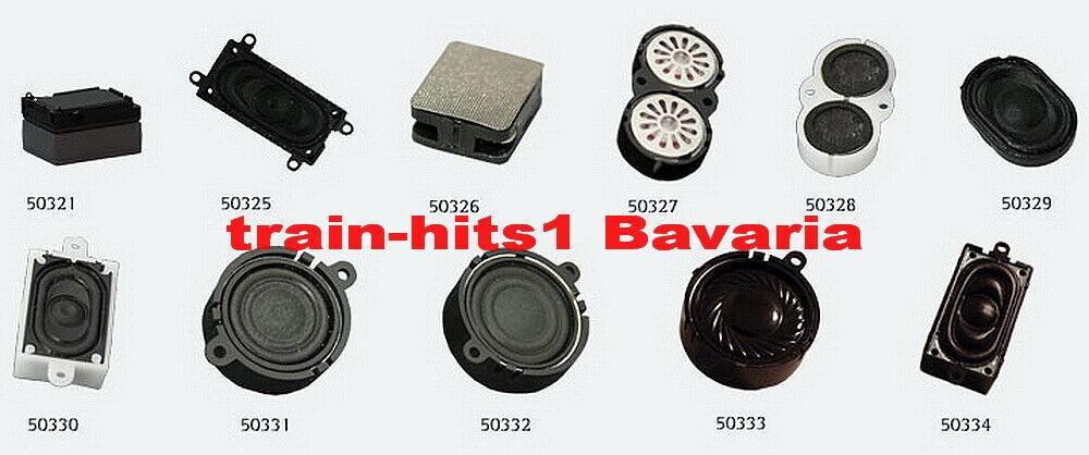 oval 100 Ohm Neuware ESU 50447 Zwei Lautsprecher 16mm