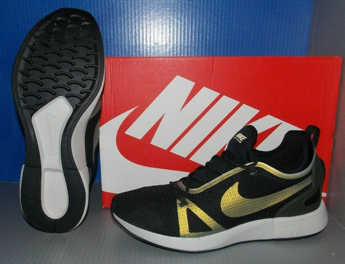 MENS NIKE DUEL RACER in colors BLACK   SEQUOIA   LIGHT BONE SIZE 13