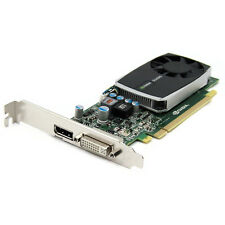 nVidia Quadro 600 1GB DDR3 PCIe x16 DVI DisplayPort Video Graphics Card Ref