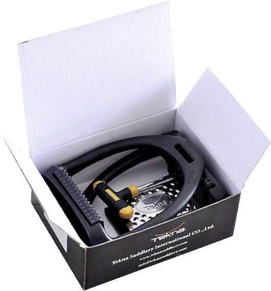 Leichte Tekna Steigbügel Flex Tek, Kunststoff, 12cm, mit Gelenk, MeGrößeuflage