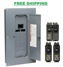 Square D 100 Amp 40 Circuit 20 Space Indoor Main Breaker Box Panel Load Center
