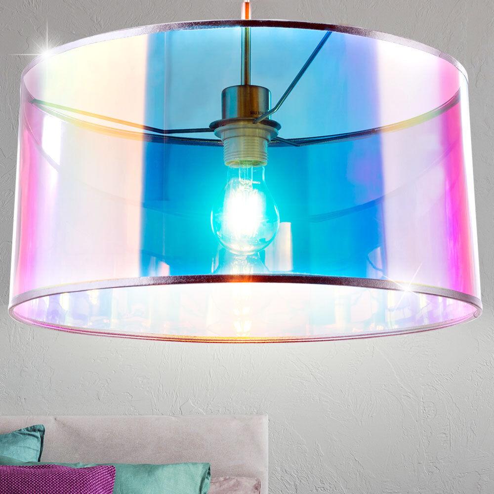 Pendule de plafond éclairage chambre enfant éclairage Textile Suspendu Lampe MultiCouleure