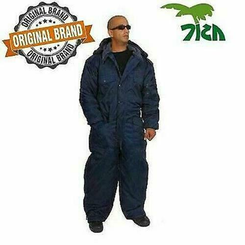 """IDF Israel Navy Blue Cold Weather /""""Hermonit/"""" Winter Gear Coverall waterproof"""
