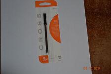 Cross BLACK SLIM GEL ROLLING Ball Point Refill Pen 1 Refill 8910-1 NEW SEALED