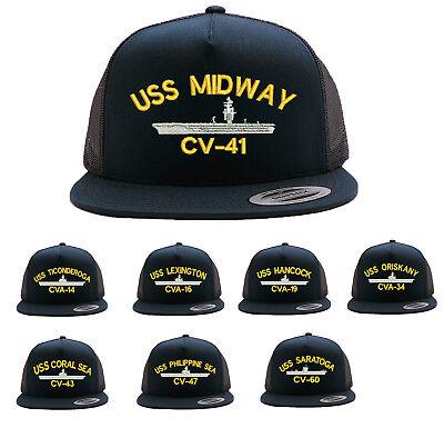 CVA-19 Military Baseball CAP HAT USS CV-41 CV-60 CV-43 CV-47 CVA-14 CVA-16