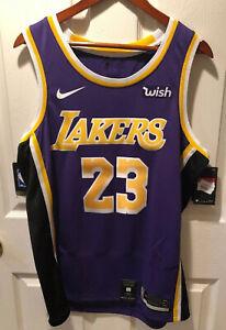 NWT 2020 LA Lakers Lebron James Nike
