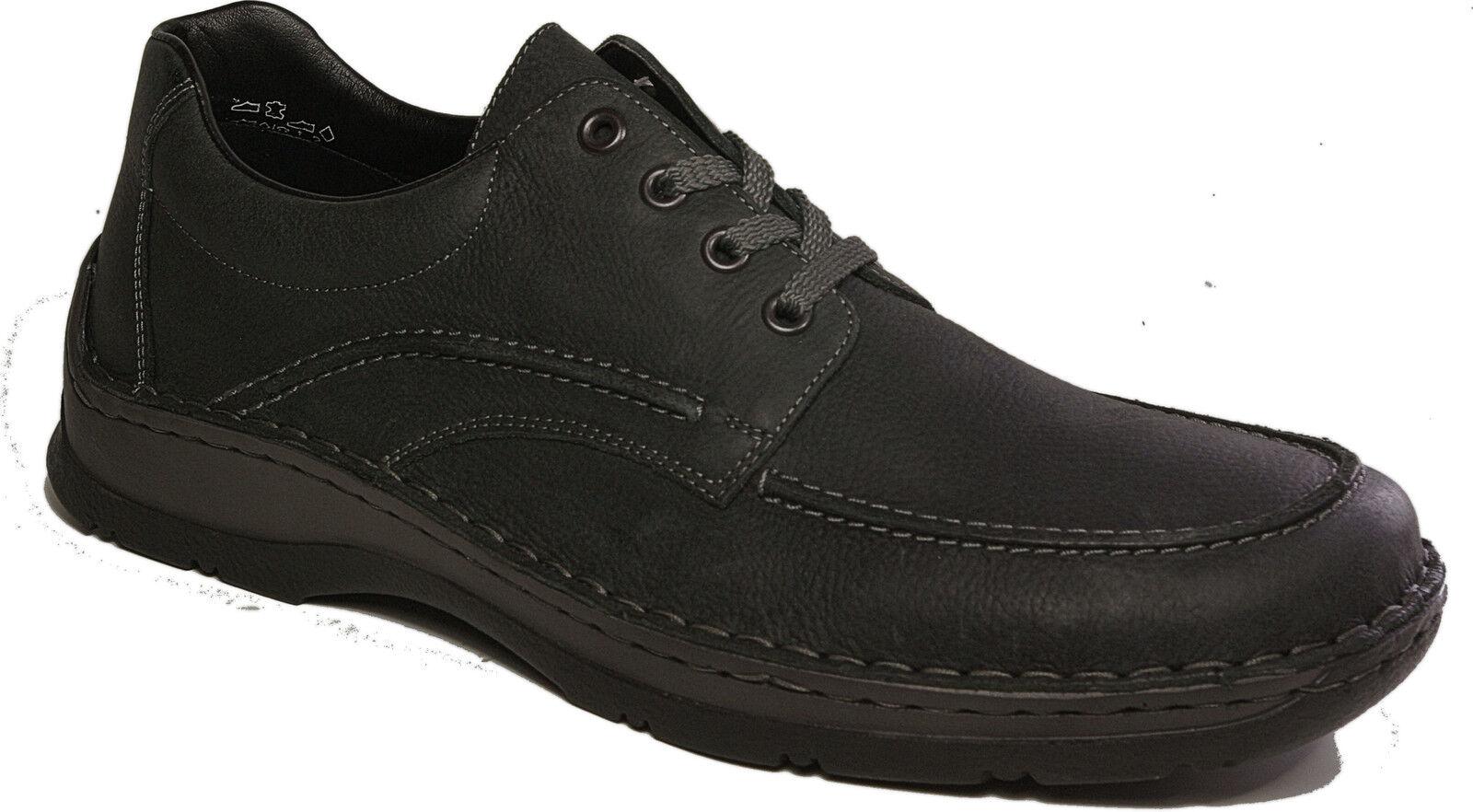 RIEKER Schuhe Halbschuhe NEU echt Leder Schnürschuhe NEU Halbschuhe  grauschwarz 1d5ec1 f423f9836c