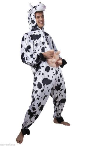 Kuhoverall Kuh Kühe Kostüm Overall Plüsch Milch Kuhkostüm Kleid Hose Frosch Tier