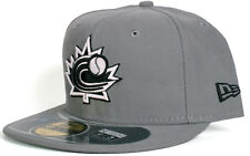 item 5 World Baseball Classic Team Canada 59Fifty New Era Fitted Hat -  Black White Grey -World Baseball Classic Team Canada 59Fifty New Era Fitted  Hat ... 3b501214acec