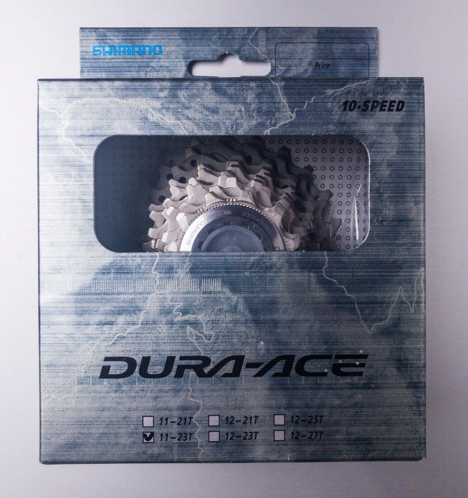 Shimano dura ace CS-7800 11-23T 10 speed cassetta cassette  cogs NOS NEW pignoni