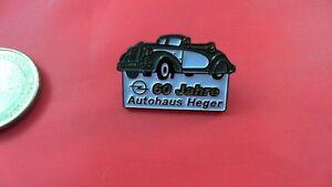 Aroma Aufstrebend Opel 60 Jahre Autohaus Heger Schweiz Pin Badge Duftendes In