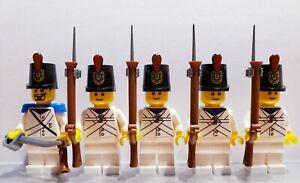 Lego PIRATES NAPOLEONIC WARS Batavian DUTCH Infantry Soldiers MINIFIGS