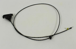 02-05 Dodge Ram 1500 2500 3500 Hood Release Cable And Handle Mopar Factory New