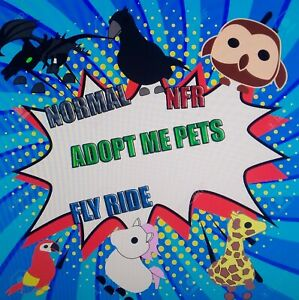 Roblox Adopt Me Pets Nfr Fr Fly Ride Ebay