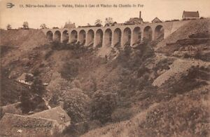 Neris-les-bains-Valley-Factory-in-Gas-and-Viaduct-of-the-Chemin-Iron