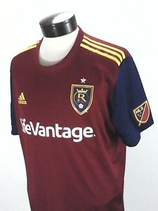 ADIDAS Real Salt Lake Official Jersey MLS Soccer Climacool CW3534 ... 50354a33a