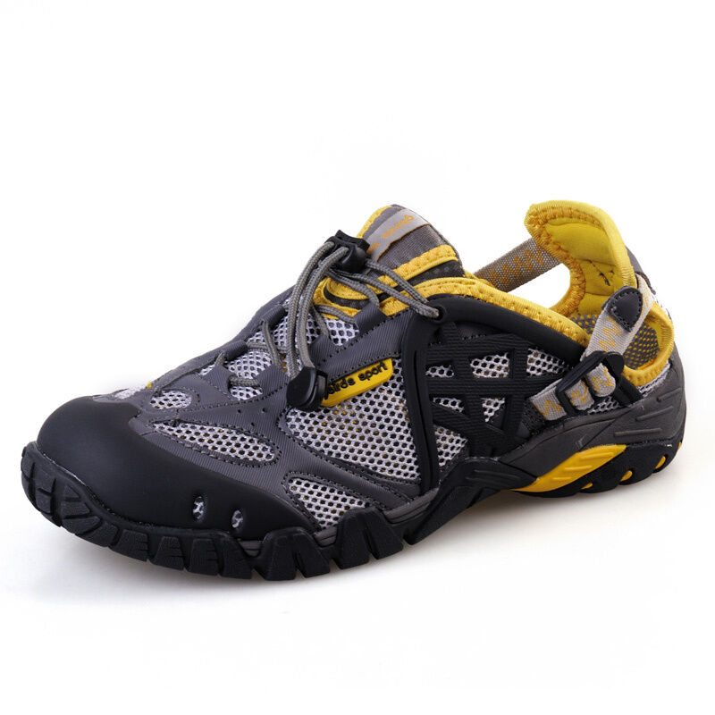 Outdoor Mens Water River Creek Sports Shoes Trail Hiking Hole Made Sandals Shoes