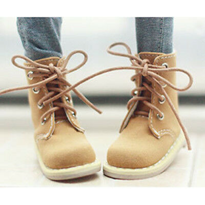 Leather Short  Boots Shoes For 1//6 11inch tall BJD Doll  AOD YOSD Doll G/&D