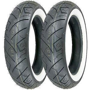 Shinko 777 Pair 140 80 17 170 80 15 Whitewall M C Tyre Honda Vt1100 Shadowaero Ebay