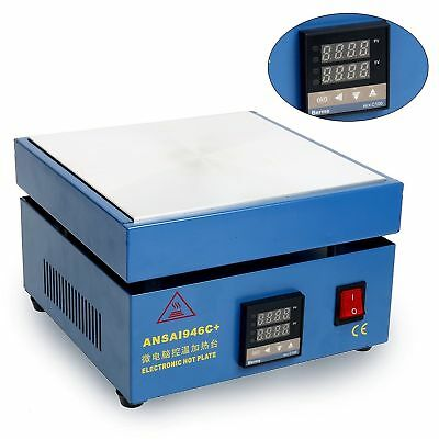 Electronic Hot Plate Preheat Preheating Station 800W 200*200*20mm Soldering Work