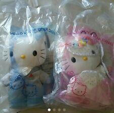 McDonald Hello Kitty Wedding Plush Doll Set