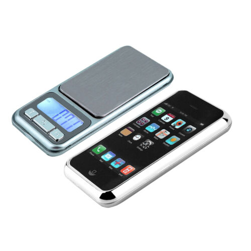 Digital Electronic LCD Pocket Scales For Herbs Gold Jewelery Weighing Gemstones