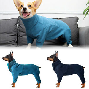 Large-Dog-Jumpsuit-Winter-Warm-Fleece-Dog-Coat-High-Collar-Pet-Clothes-Jumper