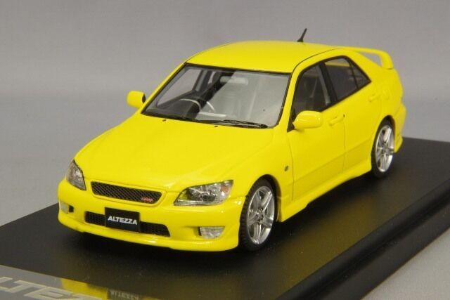 1 43 Mark 43 Toyota Altezza RS 200 (versión personalizada) Super Brillante giallo PM4343CY
