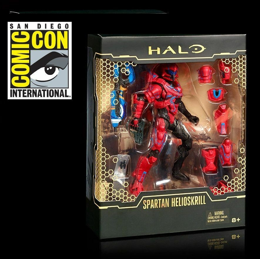SDCC 2016 MATTEL EXCLUSIVE HALO SPARTAN HELIOSKRILL RARE LIMITED EDITION SOLD