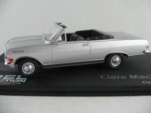 IXO-122-OPEL-RECORD-A-cabriolet-1964-034-Mackichan-034-en-argent-1-43-Nouveau-PC-Vitrine