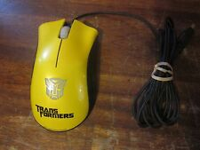 Razer DeathAdder Transformers Bumblebee Optical Infrared Gaming Mouse by Hasbro