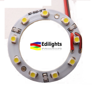 MODULO A CERCHIO RING 40MM 9 LED 3528 12V IP33 COLORE ROSA PINK