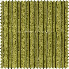 Soft Velvet Jumbo Cord Upholstery Sofas Cushion Fabrics Material Plain New Green