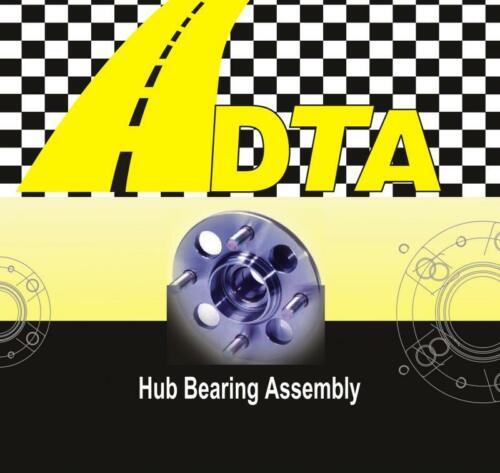 2 New DTA Premium Axles 2 New Front Wheel Bearings for Toyota Corolla