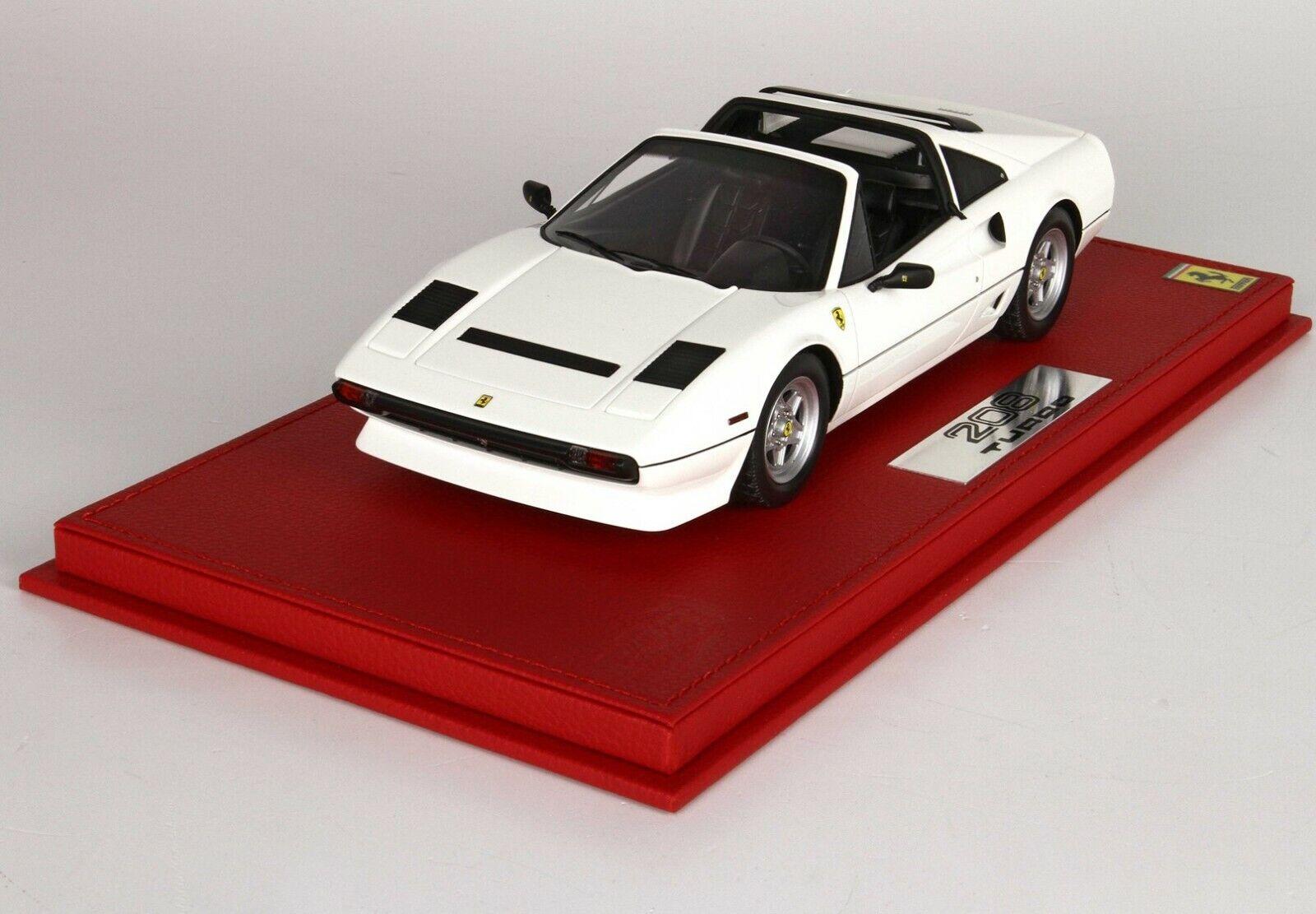 tienda Ferrari 208 208 208 GTS Turbo 1983 (blancoo) 1 18 BBR Limited 99pcs P18142B  Envíos y devoluciones gratis.