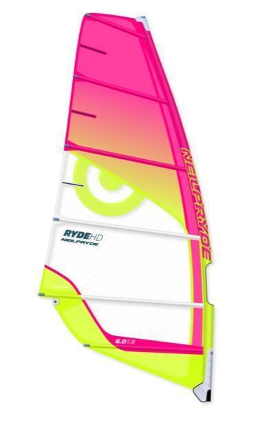 Acuático Ryde 7.5 HD 2018 Freeride Vela Windsurf Surf