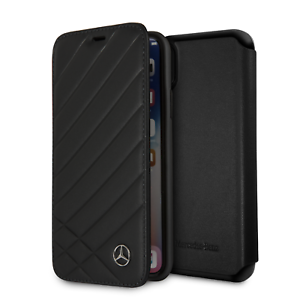 Mercedes-Benz-iPhone-X-amp-iPhone-XS-Wallet-Case-Real-Leather-with-Card-Slots