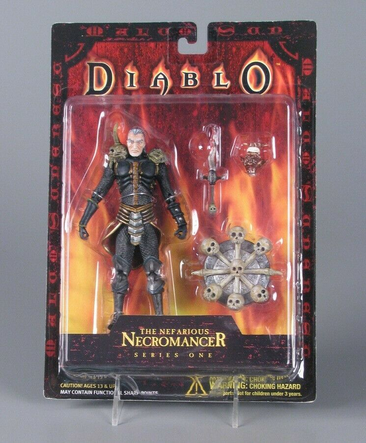 The Nefarious Necromancer figura 17 cms - NUEVA Y MUY RARA