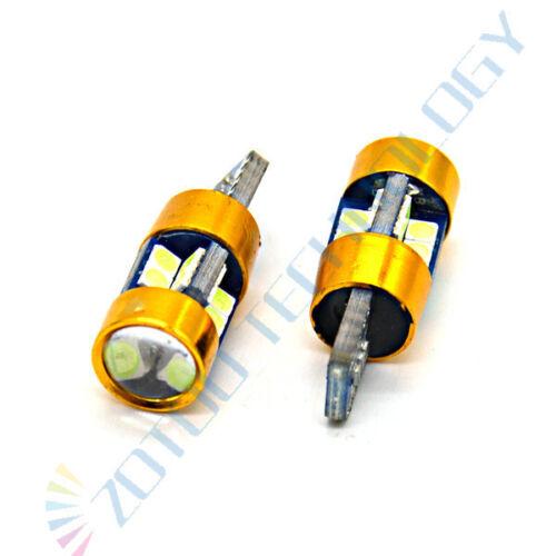 2x Backup Reverse Light CANBUS LED Car Light 19LEDs Ice Blue T10 W5W 501 921 194