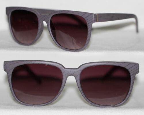 Retro Sonnenbrille medium Holz Optik Look Damen Herren beige braun grau 843