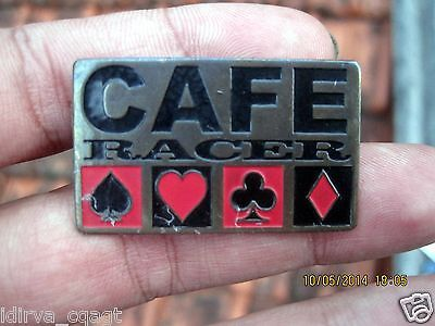 ROCKERS PIN 59 TON UP CAFE RACER VINTAGE BIKERS BRASS