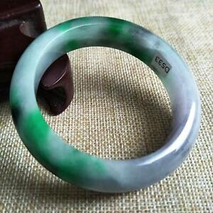 10/% OFF 55//56//57mm Certified Natural Jadeite Emerald A*Jade Handcarved Bangle A