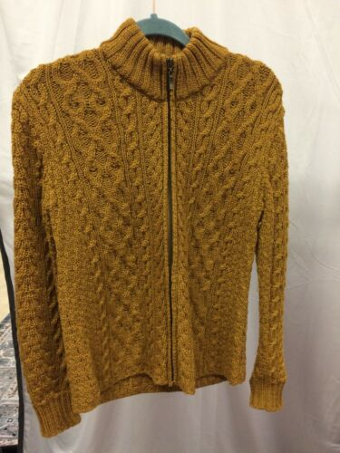 Inis Crafts Brown Sweater In Size L
