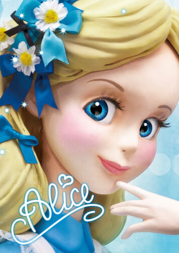 Disney Alice Close-up Series 3D Lenticular Card 3D Postcard