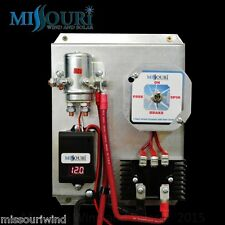 12 volt digital charge controller with brake switch 4 wind turbine & solar panel