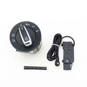 Oem-Interrupteur-Chrome-Neuf-Auto-Phare-Capteur-pour-VW-Golf-Mk6-Jetta-MK5