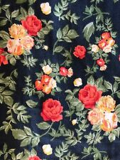 NWOT LuLaRoe TC Tall & Curvy Vintage Roses Floral Reds and Yellows Black Legging